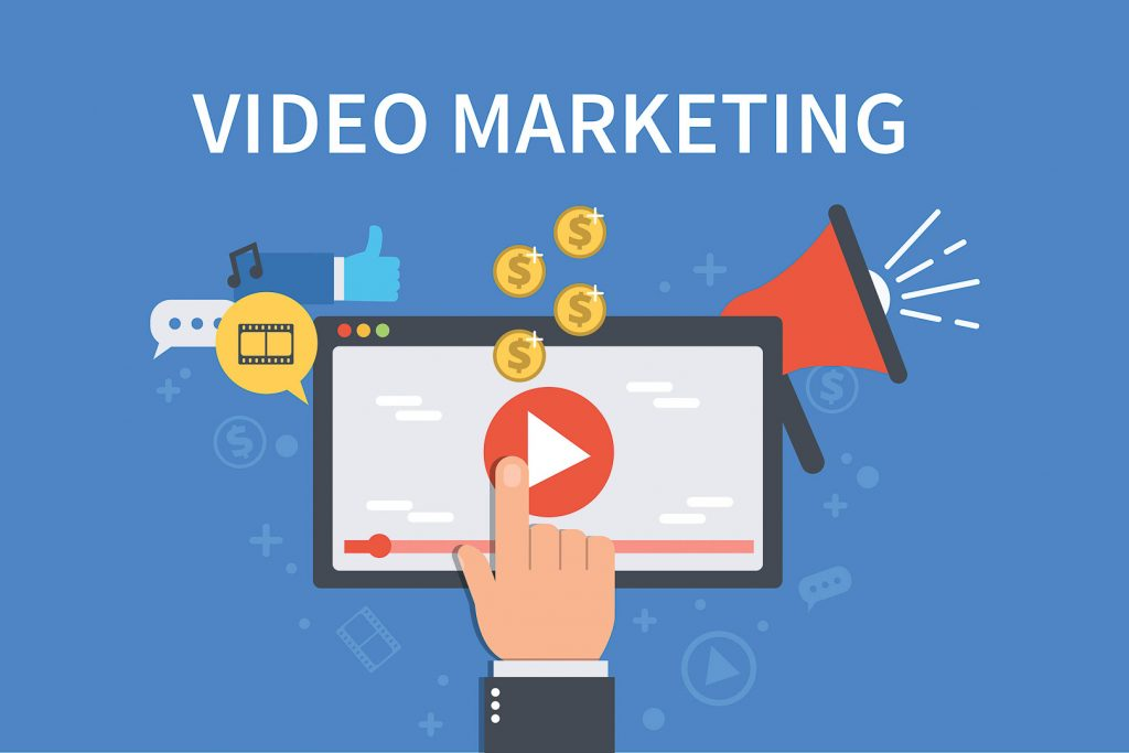 Food video production for video marketing