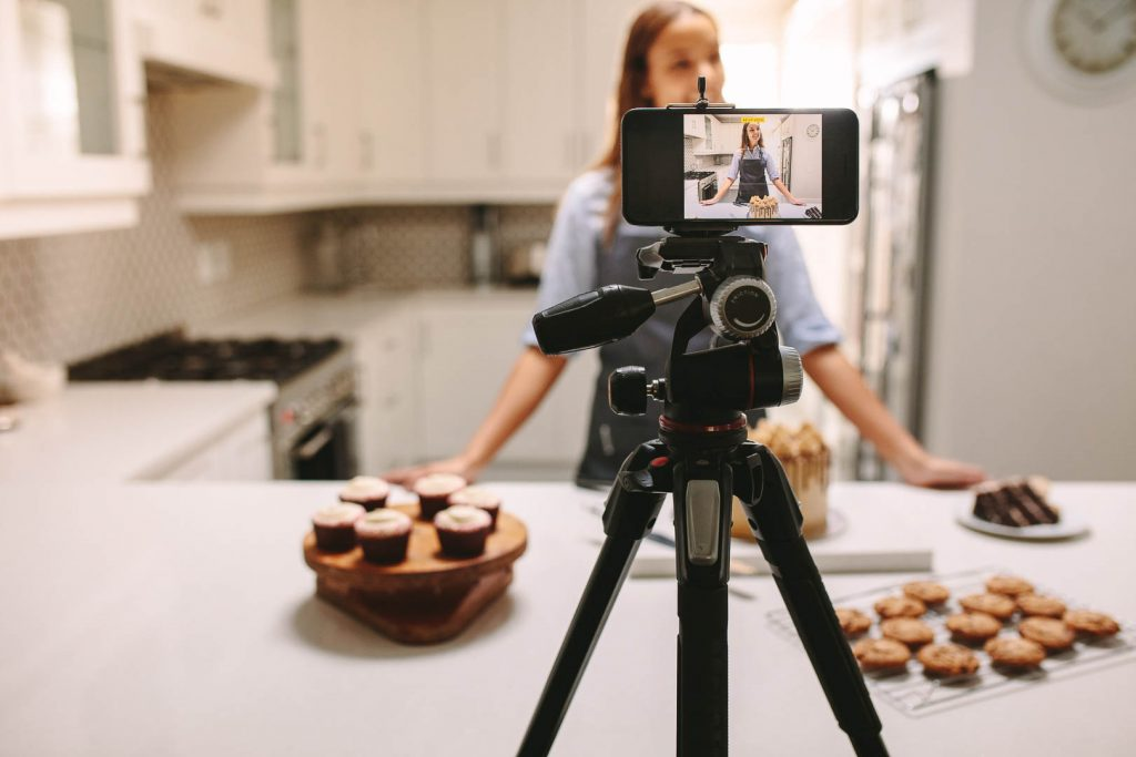 How to make cooking videos with your phone