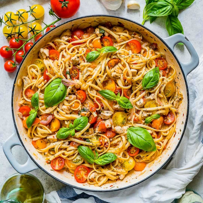 Food Photography and Food Videography - Chicken Pasta