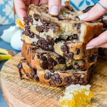 Food Photography and Food Videography - Banana Bread